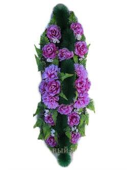 Ветка память №3 - венок-флоретка на гроб или могулу купить в санкт-петербурге