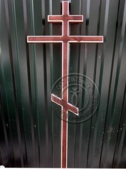 Крест деревянный сосна биотекс К3
