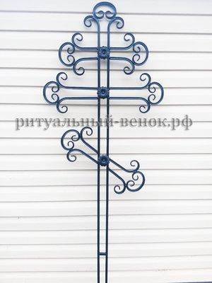 Крест кованый КМ-2 - Фото 1 | Компания «Венок»