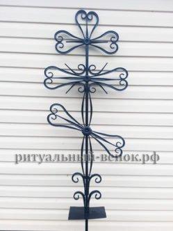 Крест кованый КМ-3