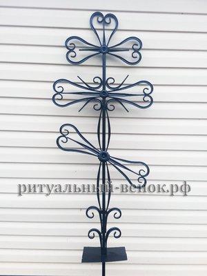 Крест кованый КМ-3 - Фото 1 | Компания «Венок»