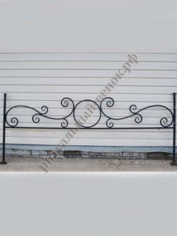Ограда кованная №1