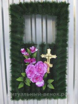 цветочница из искусственных цветов