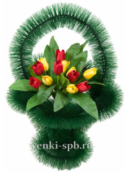 Ажурная с тюльпанами - Фото 3 | Компания «Венок»