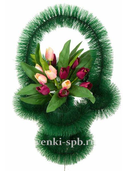 Ажурная с тюльпанами - Фото 5 | Компания «Венок»