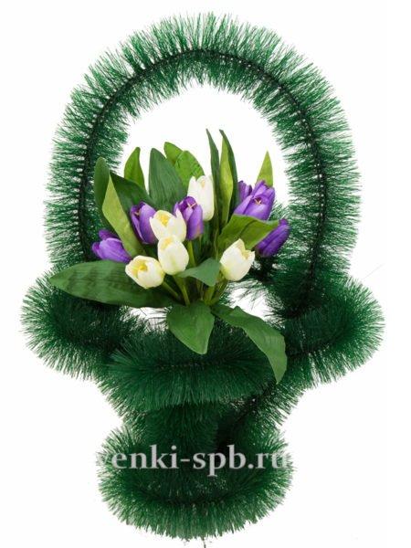 Ажурная с тюльпанами - Фото 4 | Компания «Венок»