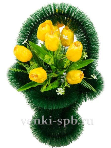 Ажурная с тюльпанами - Фото 2 | Компания «Венок»