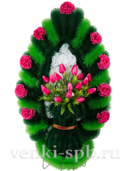 Ваза с тюльпанами - Фото 1 | Компания «Венок»