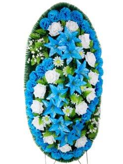 Венок похоронный среднего размера Джульетта