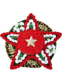 """Патриотический венок на 9 мая """"Звезда 4"""""""