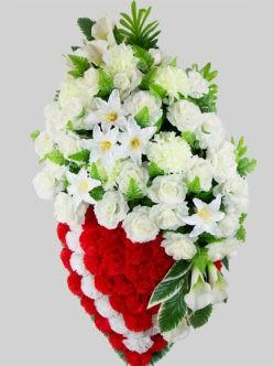 """Ритуальный венок на похороны """"Исидора"""""""