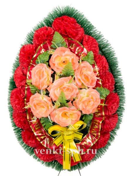 Ладога с розами - Фото 2 | Компания «Венок»