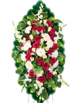 """Ритуальный венок на похороны большого размера """"Солярис 2"""""""