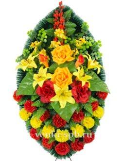 Траурный венок на похороны Лесная фея