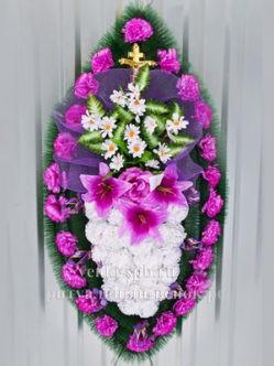 """Ритуальный венок на похороны """"Нефертити"""""""