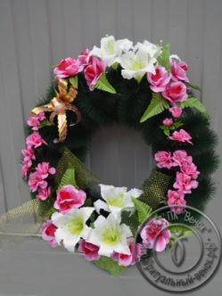Ритуальный венок на похороны Кольцо Среднее 2
