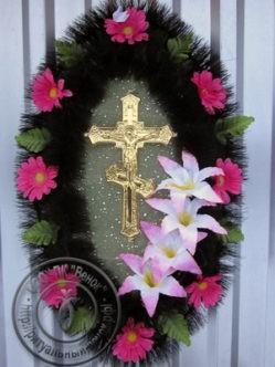 Траурное флористическое изделия Амелия