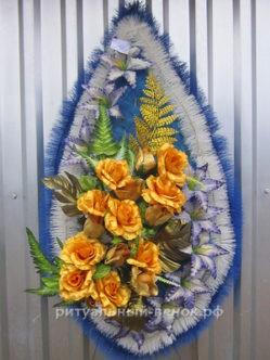 Венок на похороны Снежная Королева