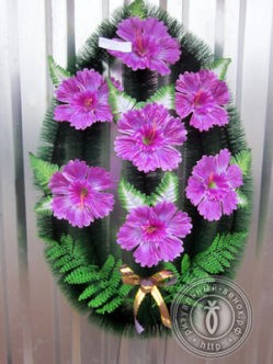 Ритуальный венок на похороны Алтай