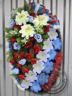 """Патриотический венок на 9 мая для возложения к мемориалам Защитников Отечества """"Военный"""""""