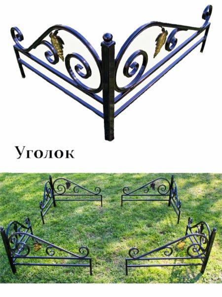 Уголок на могилу 1*1 м - Фото 1 | Компания «Венок»
