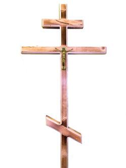 Деревянный крест с распятием
