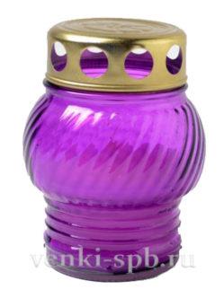 Лампада неугасимая малая - фиолетовая