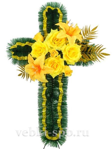Крест — золото - Фото 1 | Компания «Венок»