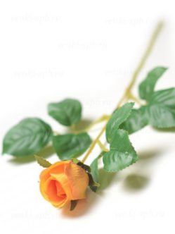 Искусственные розы Барберини желтые в СПб