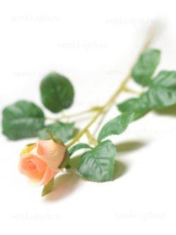 Искусственные розы Барберини персиковые в СПб