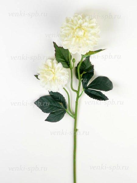 Георгины на ветке Монига- белый - Фото 2 | Компания «Венок»