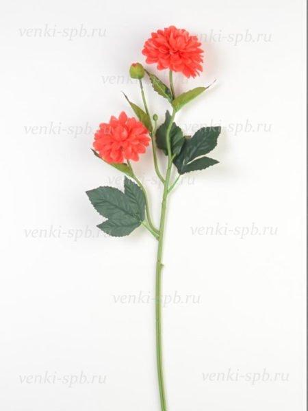 Георгины на ветке Монига- красный - Фото 2   Компания «Венок»