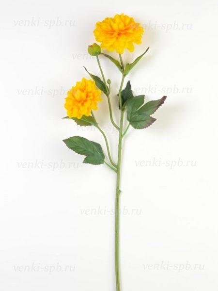 Георгины на ветке Монига- желтый - Фото 2 | Компания «Венок»