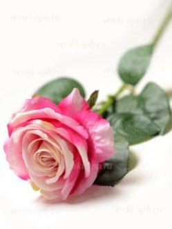 Искусственные розовые розы на похороны и троицу в санкт-петербурге