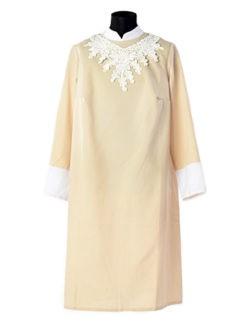 Платье погребальное бежевое Милорада купить в Санкт-Петербурге с доставкой