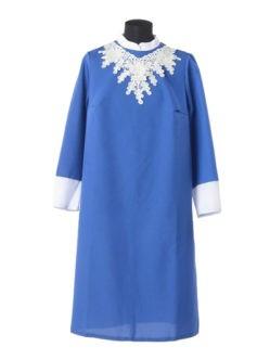 Синее платье в гроб Милорада заказать с доставкой в спб