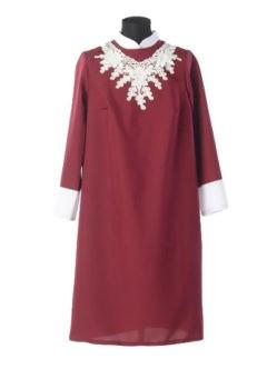 БОрдовое платье в гроб Милорада купить в спб