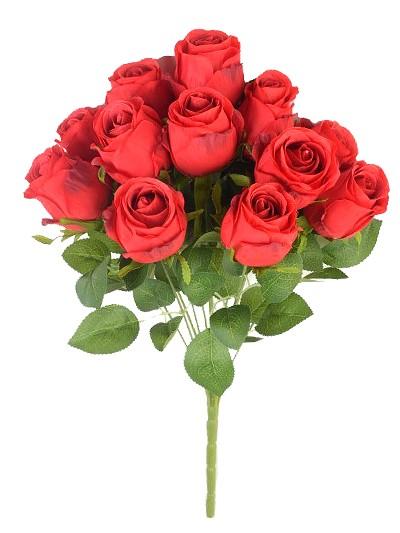 Букет бутонов роз Студли 12 бутонов красный - Фото 1 | Компания «Венок»