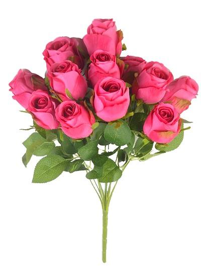 Букет бутонов роз Студли 12 бутонов малиновый - Фото 1 | Компания «Венок»