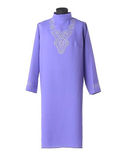 Платье для погребения Муромское фиолетовое - Фото 1 | Компания «Венок»