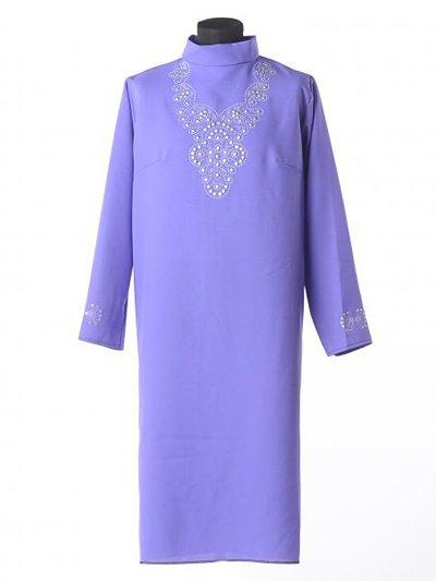 Платье для погребения Муромское фиолетовое - Фото 2 | Компания «Венок»