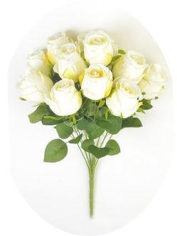 Букет белых роз Студли купить на кладбище спб
