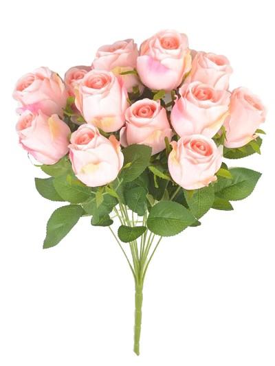 Букет бутонов роз Студли 12 бутонов светло-персиковый - Фото 1 | Компания «Венок»