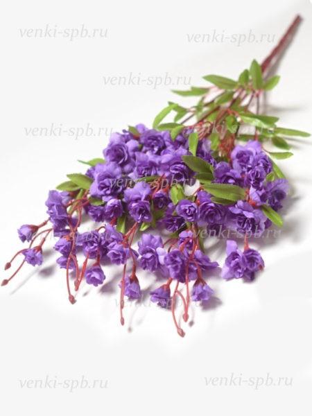 Искусственные цветы Букет роз СОХОЛЛ — фиолетовый - Фото 1 | Компания «Венок»