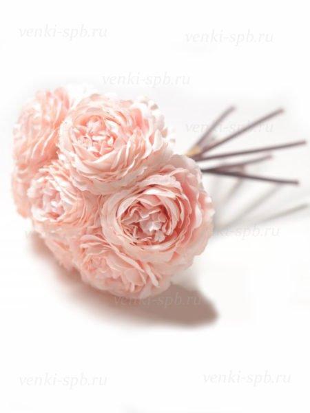 Букет камелии МАТЛОК — нежно-розовый - Фото 1 | Компания «Венок»