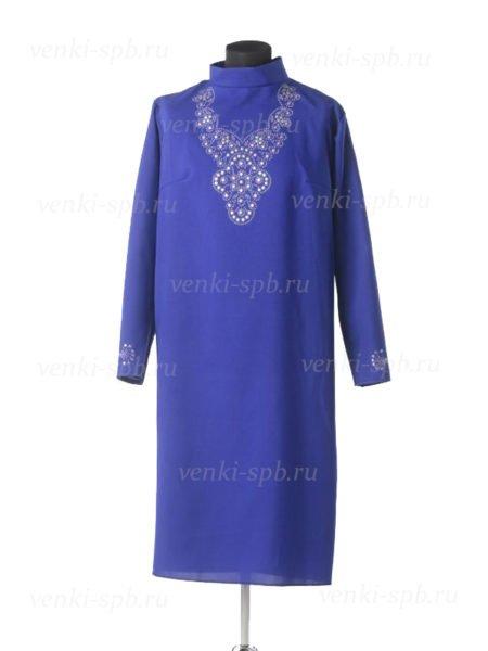 Платье для погребения Муромское синее - Фото 2 | Компания «Венок»