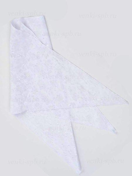 Косынка для умершей белая ( батистовая) - Фото 1 | Компания «Венок»