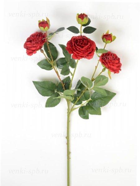 Веточка роз Ранко темно-красная LUX - Фото 2   Компания «Венок»
