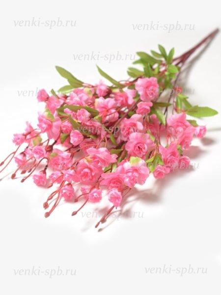 Искусственные цветы Букет роз СОХОЛЛ — розовый - Фото 1 | Компания «Венок»