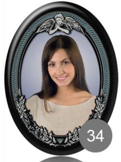 Фото на керамике 35 с ангелом СПб